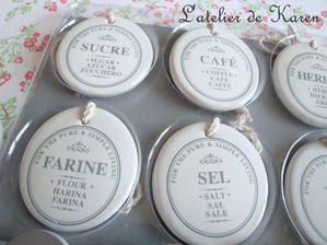 thé cadeaux étiquettes