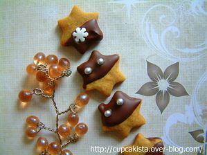 Gingerbread Chocolate Orange Stars-1