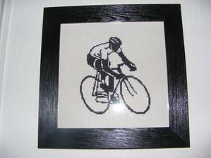 Cycliste par Nathalie