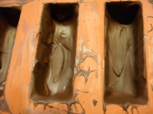 empreintes chocolat