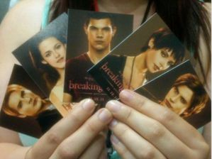 Breaking Dawn Promo Card - Various 1
