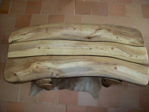 table basse hetre