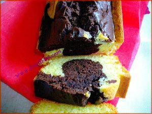 Cake marbré 4