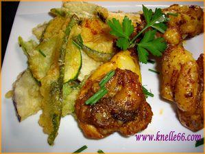 Manchons de poulet Tandoori 4
