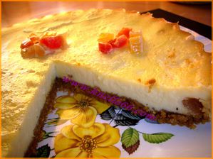 cheesecake aux fruits exotiques 4