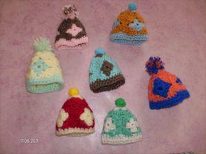 minis bonnets S.23