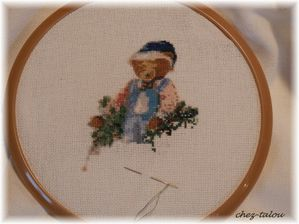 automne broderie