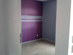 Faience sdp peinture bureau maison ossature bois sarthe