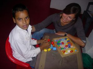 Encouraging engagement in activities for a child deprived o