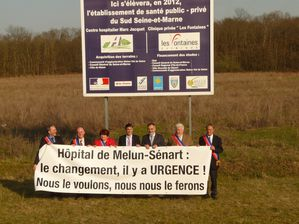 photo hôpital manif