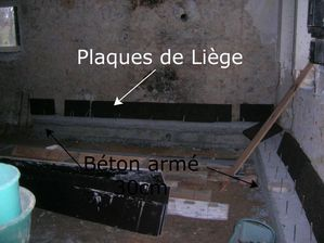 Fondations en b ton - Plaque ciment arme ...