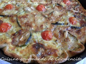 SAM 1226-BorderMaker Quiche de courgette au Brie de Mea