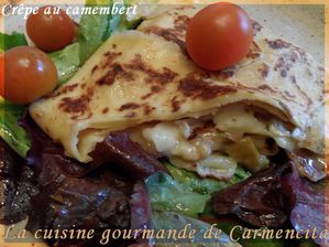 Crêpes au camembert-border