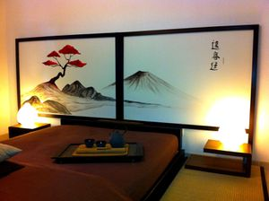 kyoto zen hayashi cr ation inspiration du japon. Black Bedroom Furniture Sets. Home Design Ideas