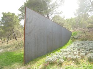 La Coste, Richard Serra, Aix, 2008
