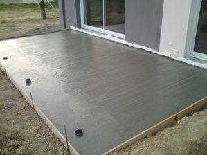 terrasse et fondations notre maison depreux par thomas et virginie. Black Bedroom Furniture Sets. Home Design Ideas