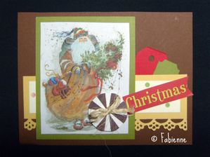 Fabienne carte sketch card chez Scrap Inès