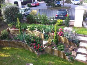 Comment decorer un jardin en pente for Amenager un jardin en pente