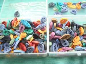 quilling stock