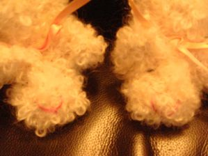 chaussons mouton minois