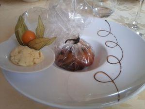 Auberge Foret - Ananas caramélisé