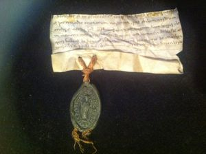 charte figurée 1392