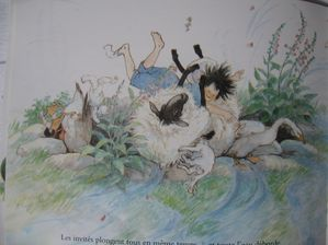 Nora et le mouton glouton de Satomi Ichikawa