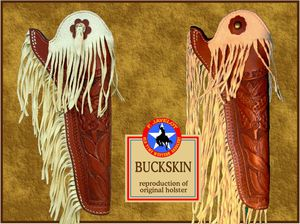 Javelot Holster Buckskin reproduction net
