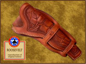 Javelot Holster Roosevelt Collins reproduction net