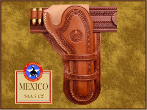 Javelot - D Mexico holster 5 1-2