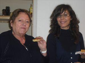 Huguette et Régina