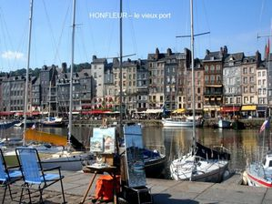 HONFLEUR LE VIEUX PORT