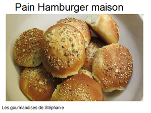 pain hamburger maison