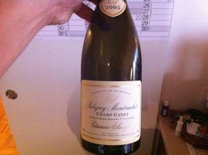 Puligny Bouteille