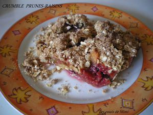crumble prunes-raisins