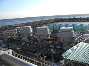 Outdoor seawater facility of Unit 6 b