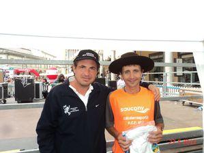 Vincenzo Altamura con Giorgio Calcaterra