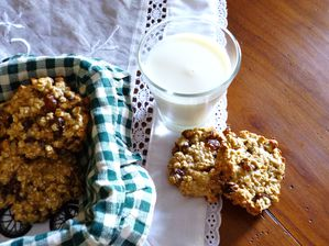 Cookies raisins oat 1