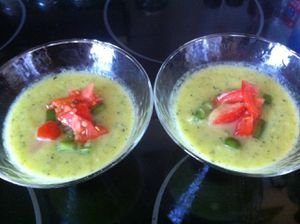 gaspacho courgette 2