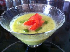 gaspacho courgette