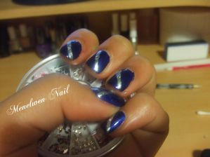 Nail art Royal