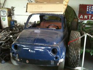 fiat 500 le retour restauration fiat 500. Black Bedroom Furniture Sets. Home Design Ideas