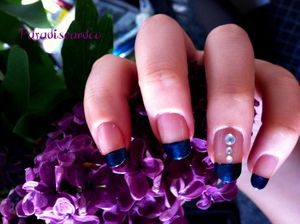 French bleue strass2