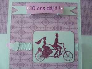 faire part d 39 anniversaire de mariage le scrapbooking de kikoo. Black Bedroom Furniture Sets. Home Design Ideas