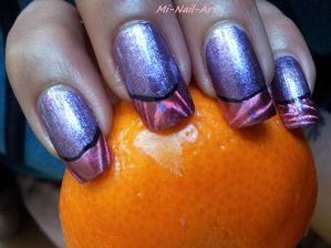 French'foil and purple 5