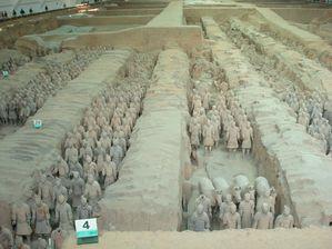 Xi'an, Shaanxi , armée de soldats terre cuite (08)