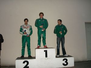 Ligue Angerville podium rotax
