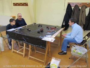 01 La table FIRESTORM ARMADA du 29 janvier 2011 - La Horde