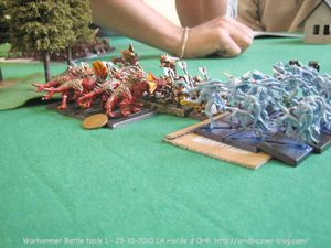 13 Warhammer Battle table 1 nains contre démons - la Horde