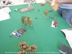 15 Warhammer Battle table 1 nains contre démons - la Horde